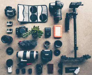 ausrüstung eines hochzeitsfotografen